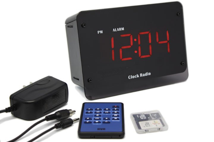 zone shield dvr clock with accessories