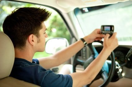 Teen driving GPS