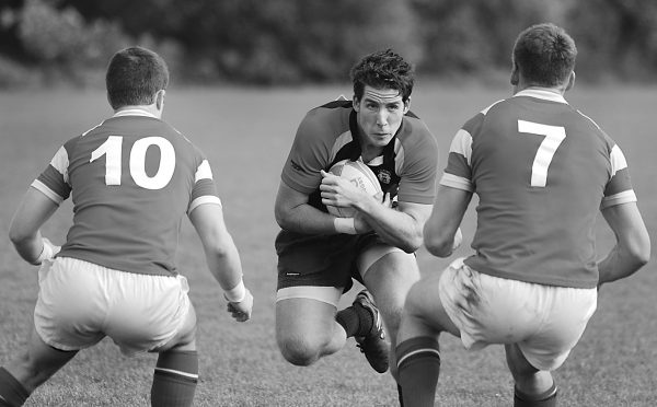 GPS Tracking Rugby Players
