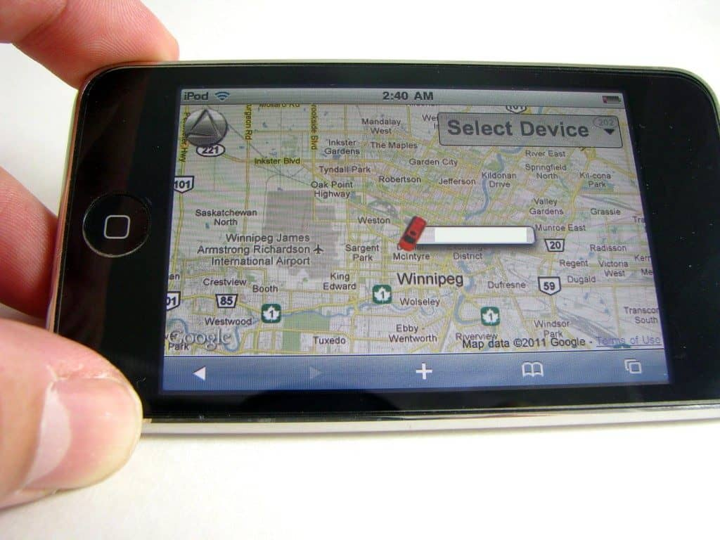 iphone silvercloud map