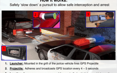 Ending Car Chases With GPS Tracking Bullet