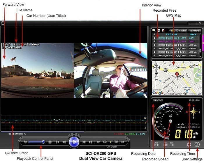 dash cam live streaming