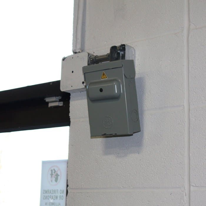 ElectricBoxSpyCamera mount