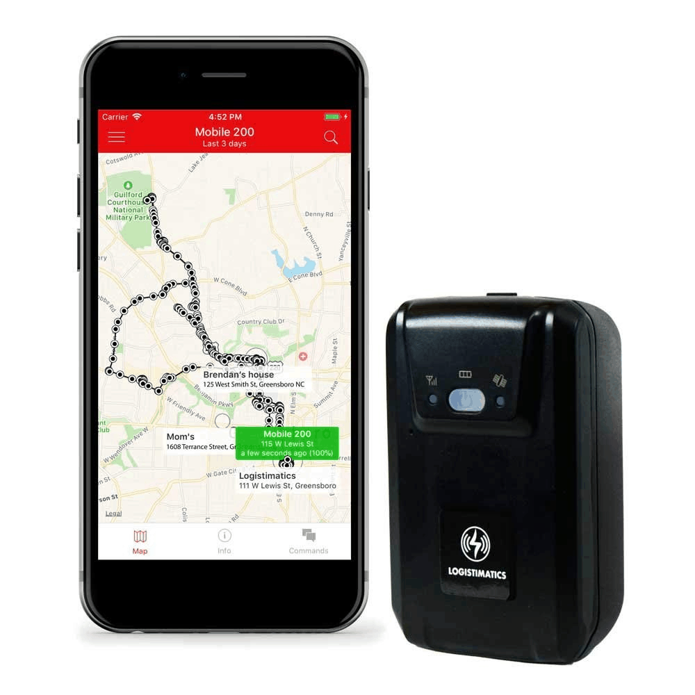 GPS Tracker With Audio