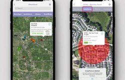 iPhone GPS tracking