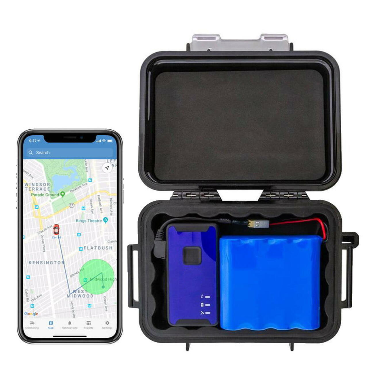 best hidden gps tracker for car long battery life